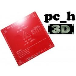 Värmeplatta för 3D skivare. Passar 12 och 24 Volt. 3DP