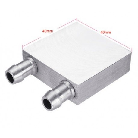 Primary Aluminum Water Cooling Block 40*40*12mm