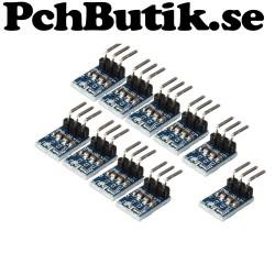 10-pack step down till 3.3V AMS1117 mini modell, passar kopplingsDÄCK