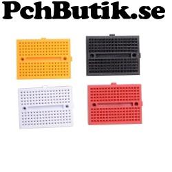 Kopplingsdäck Breadboard Protoboard 170 punkter - 4 st