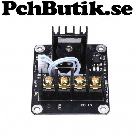 3D printer hot bed Power expansion board MOS tube high current load mo