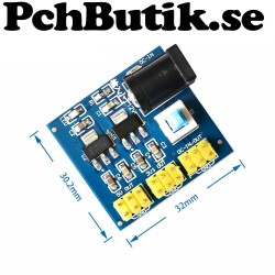 DC-DC 3.3V 5V 12V Multi Output Voltage Conversion Module