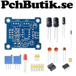 NE555 Pulse Frequency Adjustable Module Square Wave Signal Generator D