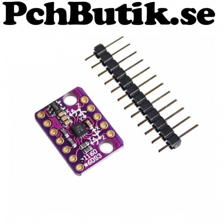 GY-BMI160 6DOF 6-axis Rate Gyro Gravity Accelerometer Sensor 3-5V