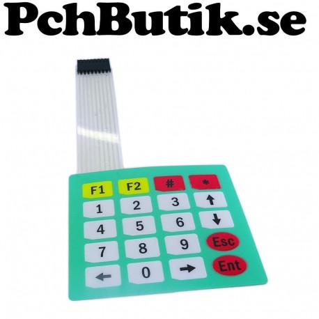 20 Key Matrix Keyboard Membrane keyboard